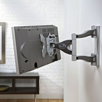 The Dual Articulating Arms Add Lots Of Strength Adequete For Just About Any Hdtv Up To 37 And Less Than 80lbs Mount Comes With A Lift N Lock Feature