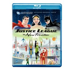 justice league new frontier blu-ray