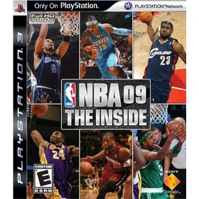 NBA 09 The Inside box art