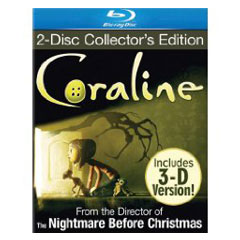 Blu-ray review: Coraline 2D/3D