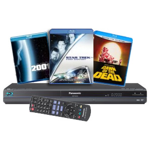Amazon bundles 3 Blu-rays with Panasonic player