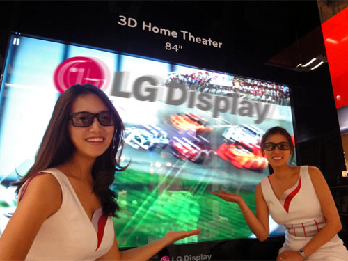LG boasts largest 3D Ultra HD display