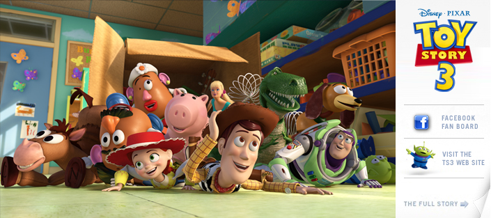 PS3 version of Toy Story 3 to include exclusive content, Playstation Move support