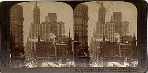 NYC Stereographic Card - Source: Wikipedia Commons