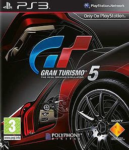 GT5 Box Art European
