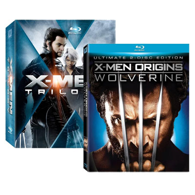 Take $80 off X-Men Trilogy & X-Men Origins: Wolverine