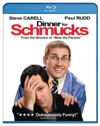 Dinner for Schmucks set to release on Blu-ray/DVD