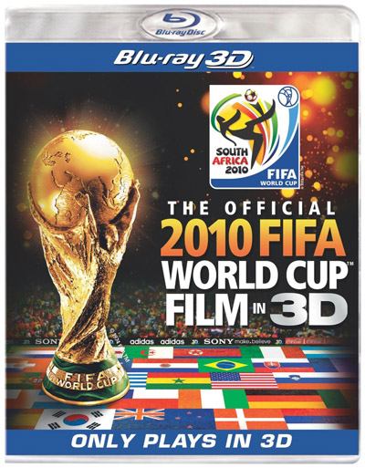 Official FIFA World Cup on Blu-ray 3D hits shelves