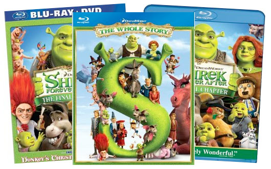 shrek-blu-ray-titles