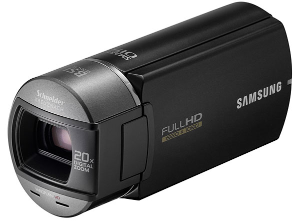 New Samsung affordable HD cam features Switch Grip