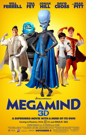 TWC adds Megamind 3D & HD On Demand