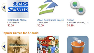 Amazon launches Android app store