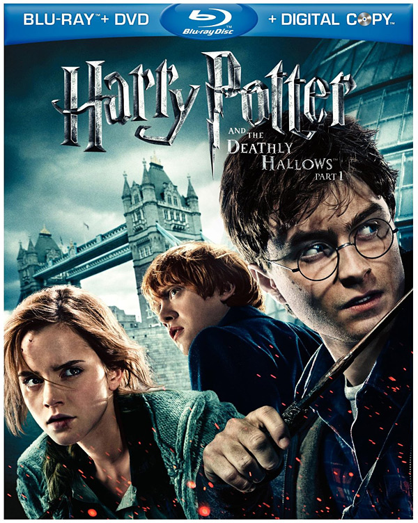 Harry Potter and the Deathly Hallows, Part 1 hits shelves on Blu-ray & DVD