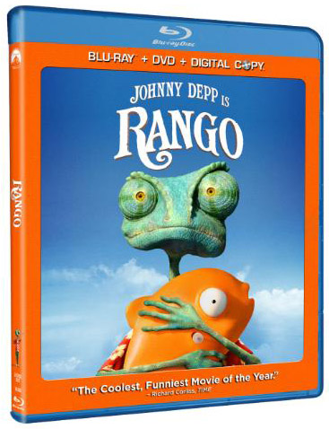 Johnny Depp in 'Rango' to release on Blu-ray Disc/DVD