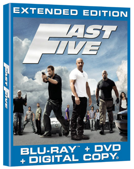 Fast Five hits home on Oct. 4