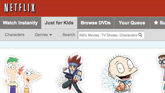 Netflix 'Just for Kids' now on Xbox 360