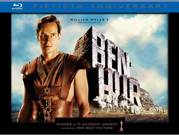 New on Blu-ray: Transformers: Dark of the Moon, Ben-Hur, Heathers