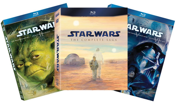 Star Wars on Blu-ray Disc hits stores