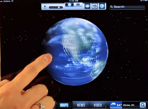 Weather Channel launches 3D app for iPad – HD Report