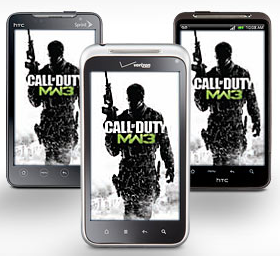Buy Modern Warfare 3 at Best Buy, Get Free HTC Smartphone