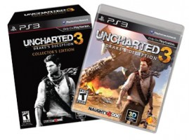 Uncharted 3: Drake's Deception swashbuckles into stores today
