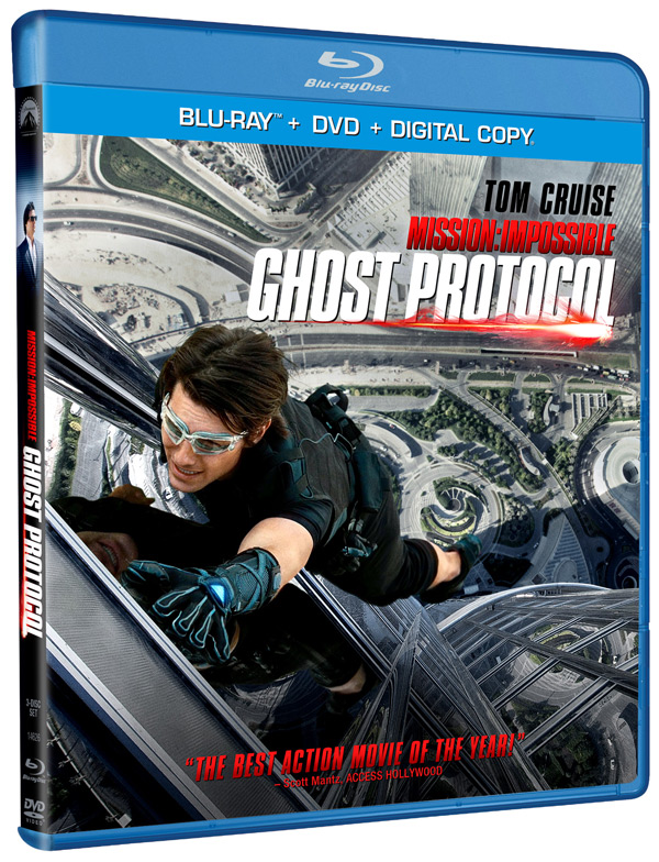 New on Blu-ray: 'Mission: Impossible Ghost Protocol'