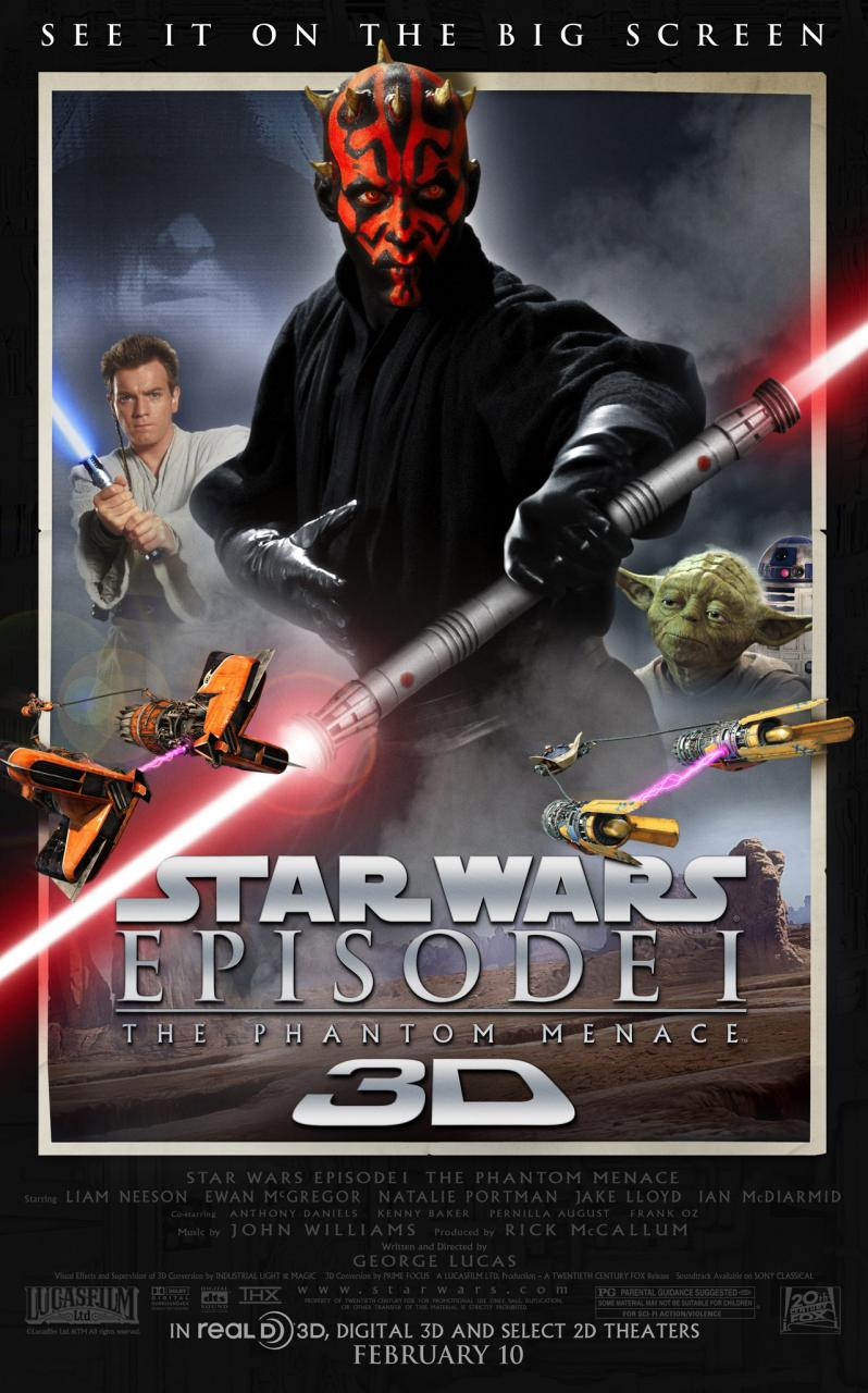 'The Phantom Menace' 3D Blu-ray out this spring?