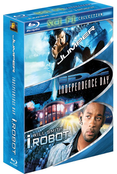 Amazon Blu-ray action film 3-Packs on sale
