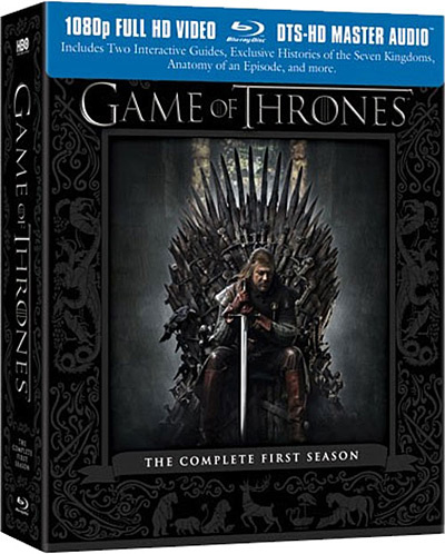 New on Blu-ray: Game of Thrones, Immortals 3D, Giants Super Bowl XLVI