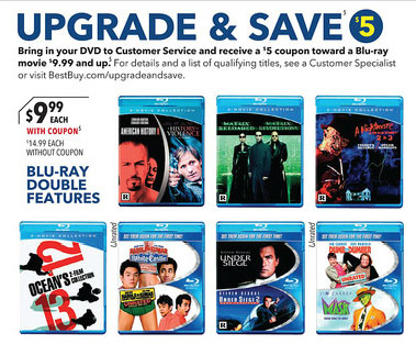 Best Buy offers $5 Blu-ray coupons for DVDs