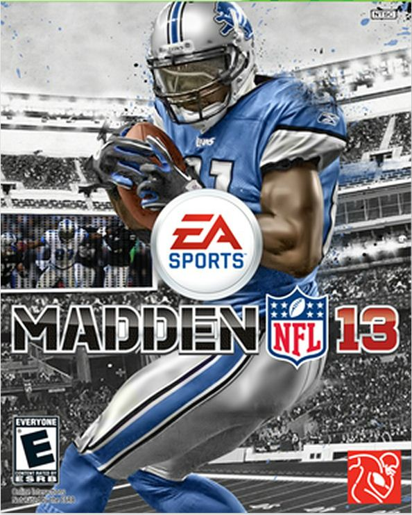 Detroit's Calvin Johnson lands 'Madden 13′ cover