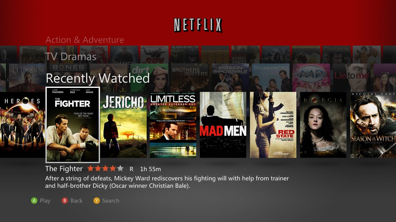 Netflix for Xbox gets update, but…