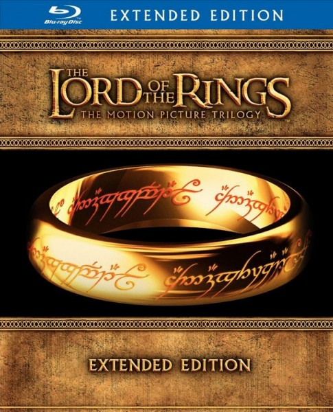 The Lord of the Rings: The Motion Picture Trilogy Extended Edition Blu-ray