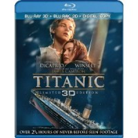 'Titanic' official Blu-ray 2D & DVD cover art