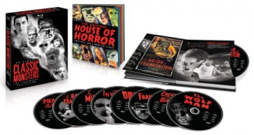 Classic monster films remastered for Blu-ray