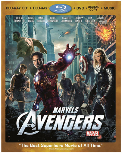 Marvel's The Avengers Blu-ray & DVD Giveaway