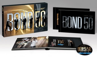 James 'BOND 50′ Complete Blu-ray Collection details revealed
