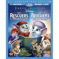 New on Blu-ray & DVD: The Rescuers, Pocahontas, The Aristocats, Disneynature: Chimpanzee