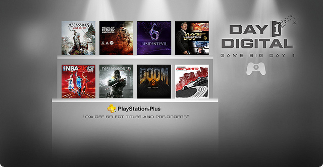 Sony to offer digital PS3 titles on disc release date