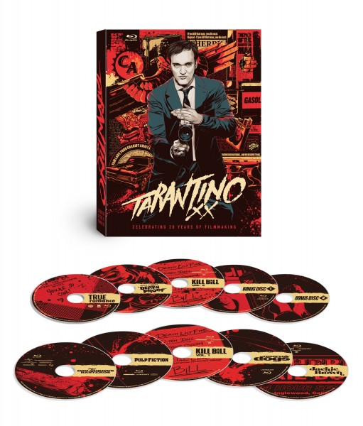 Tarantino XX: 8-Film Collection, arriving on Blu-ray 11/20