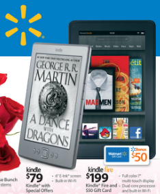 Wal-Mart Will No Longer Sell Amazon's Kindle Devices