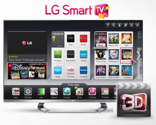 LG and Disney team up for 3D offer via Smart TVs – HD Report