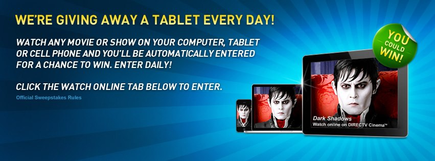 DIRECTV giving away tablets