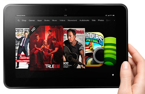UK: Amazon's LOVEFiLM now on Kindle Fire tablets