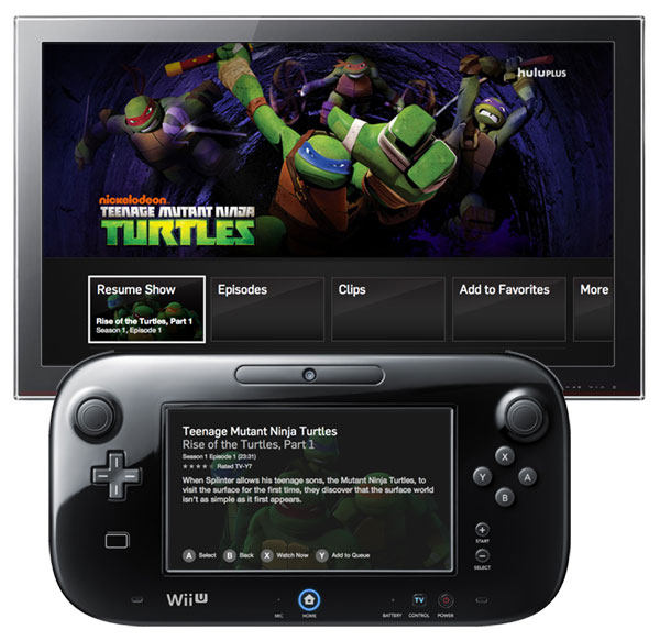 Hulu Plus launches on Wii U