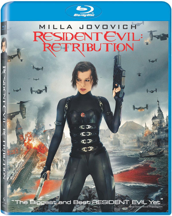 Blu-ray Giveaway: 'Resident Evil: Retribution' w/UltraViolet