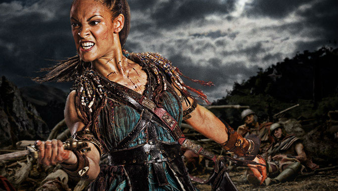 Spartacus Naevia played by Cynthia Addai-Robinson