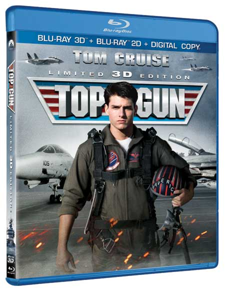 'Top Gun' 3D Blu-ray release date & cover art revealed