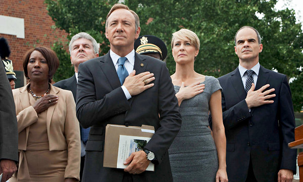 "Netflix Streams More ""House of Cards"" Trailers"