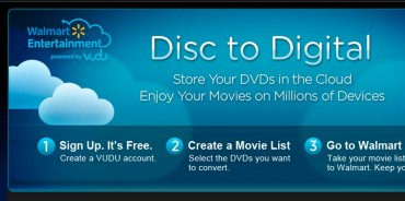 Walmart launches Disc-to-Digital In-Home service for UltraViolet Digital Copies